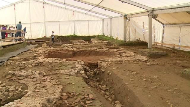 Römische Villa in Port ausgegraben