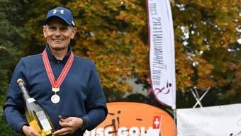 Disc-Golfer Paul Francz konnte sich am Sonntag in Kreuzlingen als Schweizer Meister feiern lassen.