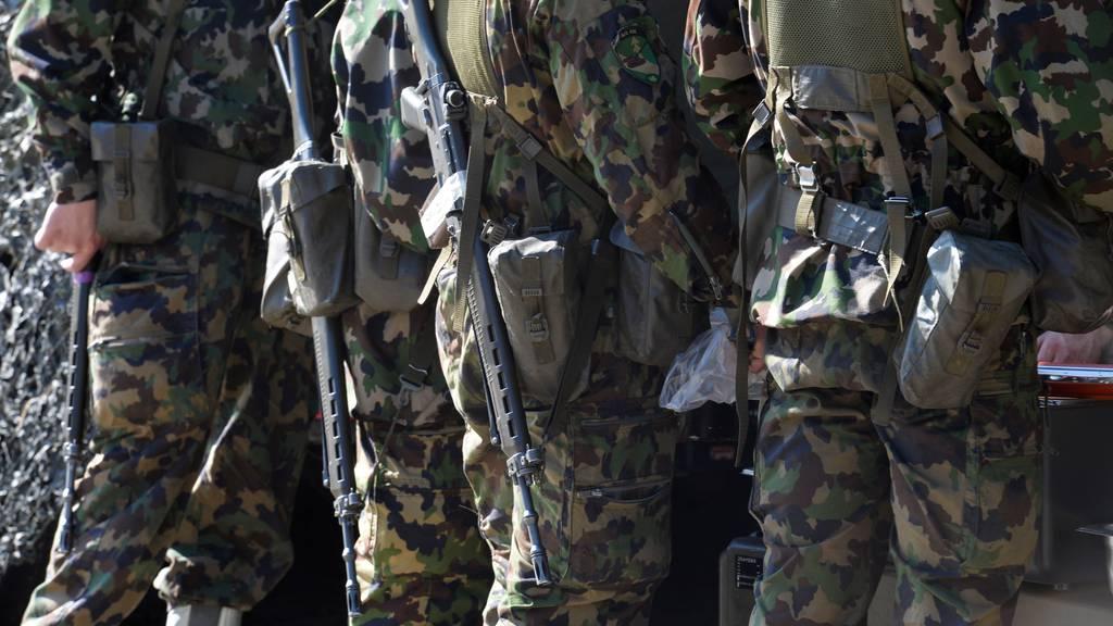 Armee streicht wegen Corona weitere Wiederholungskurse