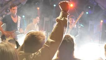 Die Band Glory studierte für ihren Auftritt beim Brugger Stadtfest eigens neue Lieder ein. Katja Ramseier