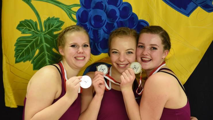Die Kleingruppe gewann am Ende die Silbermedaille.