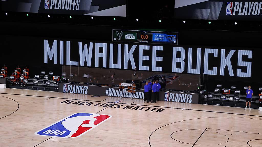 Milwaukee Bucks boykottieren Playoff-Spiel aus Protest