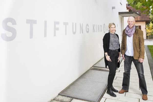 Andrea Capol und Martin Ebling, Stiftung Kind & Autismus in Urdorf,