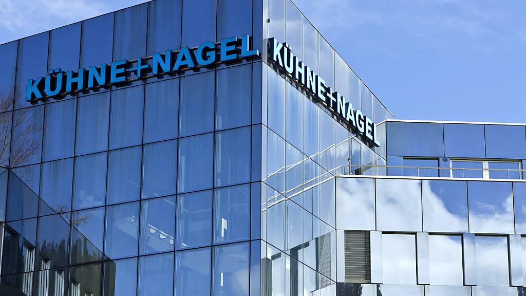Der Hauptsitz des Logistikers Kühne+Nagel, der am Montag die grösste Übernahme der Firmengeschichte bekannt gegeben hat. (Archivaufnahne)
