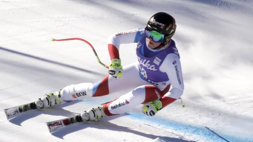 Lara Gut überzeugte im ersten Training für die Weltcup-Abfahrt in Cortina