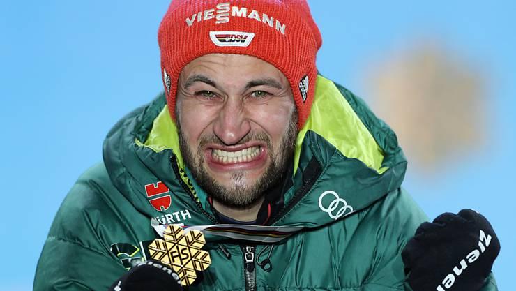 Skispringer Markus Eisenbichler gewann schon zweimal Gold und könnte zum König von Seefeld avancieren