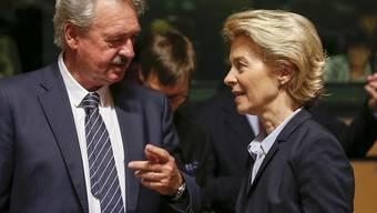 Der luxemburgische Aussenminister Jean Asselborn und die EU-Kommissionspräsidentin Ursula von der Leyen rufen den ungarischen Staatschef Viktor Orban zu rechtsstaatlichem Handeln auf. (Archivbild)