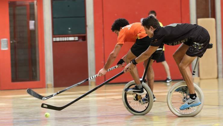 Knapper Finalsieg für die Oltner Einradhockeymannschaft Devils