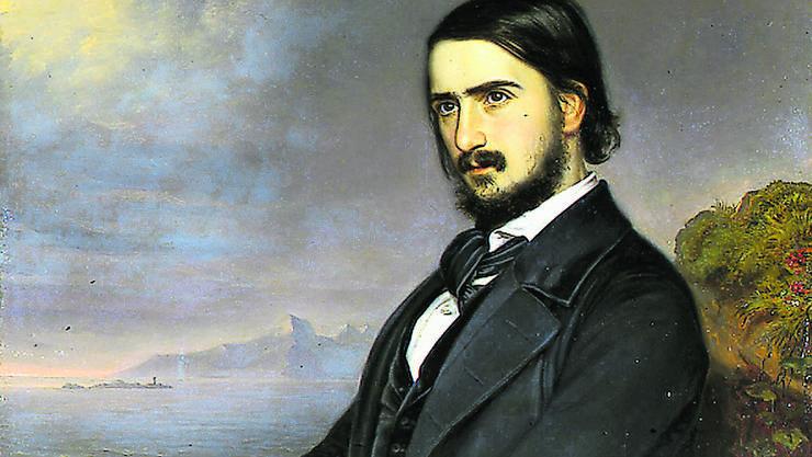Georg Herwegh war ein Kind seiner Zeit: Dichter, Revolutionär und Romantiker in Personalunion.