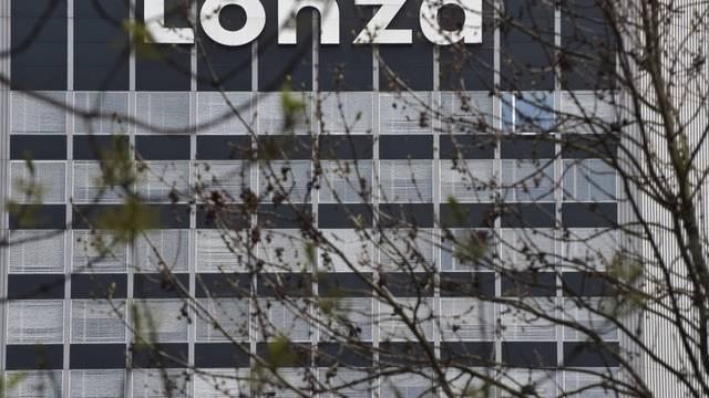 Lonza-Hauptsitz in Basel: Der Grosskonzern sticht mit 91 Punkten hervor (Archiv)