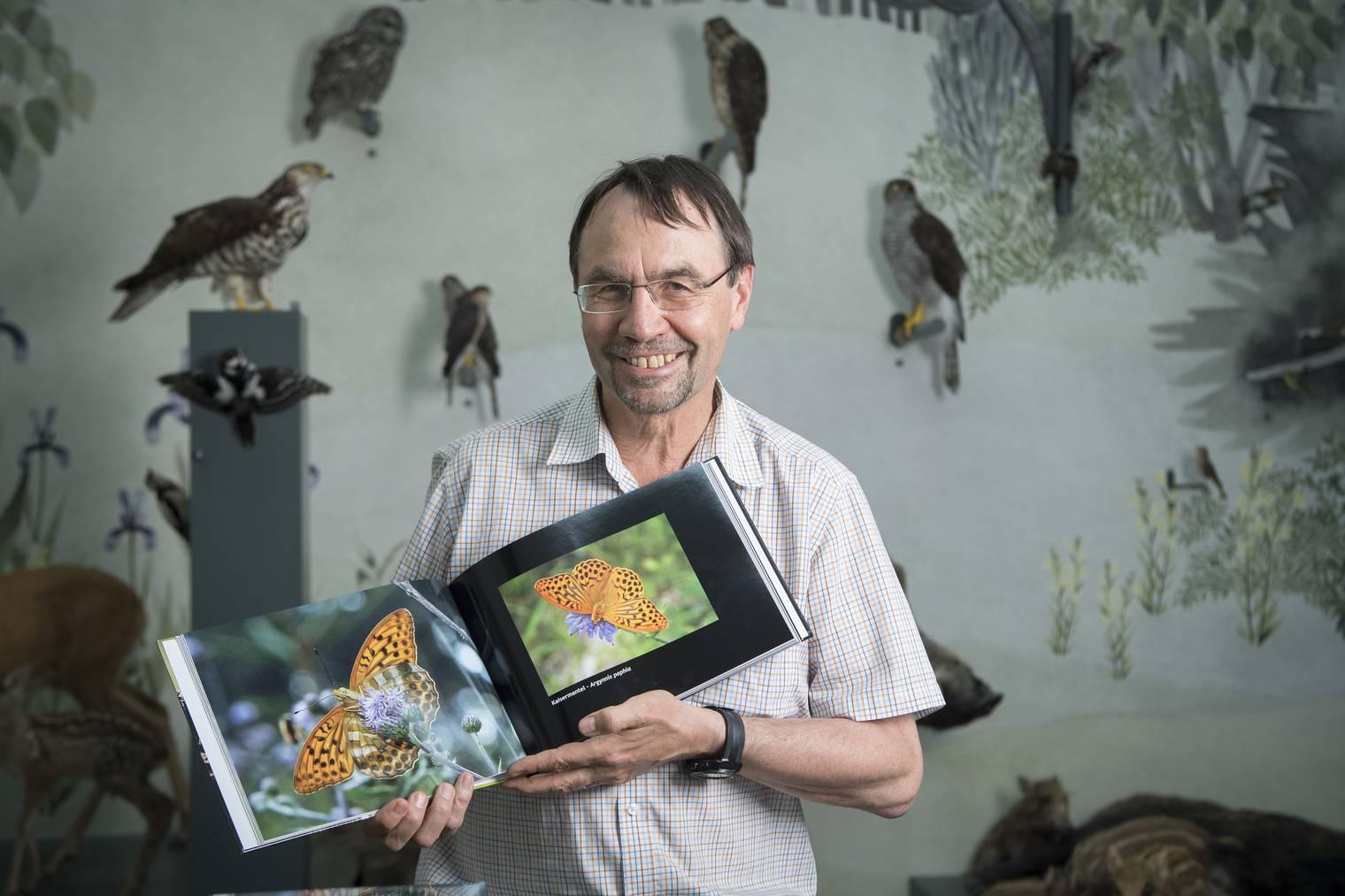 Toni Bürgin, Direktor des St.Galler Naturmuseums (Bild: St.Galler Tagblatt)