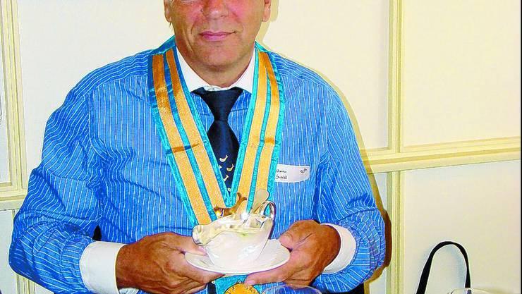 «ZUM GOLDENEN FISCH»: Der 57-jährige Roggwiler Tino Alberto Stöckli ist Tafelmeister – und Gourmet. IBA