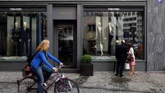 Im Tom-Ford-Geschäft am Münsterhof hat sich der Vorfall zugetragen.