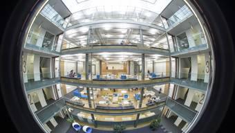 Die neuen Räume  von Bayer in Basel