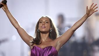 Hat nur lobende Worte für ihren Kleinen: Alicia Keys (Archiv)