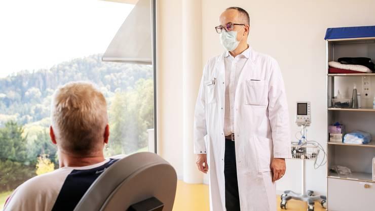 Thomas Sigrist ist Chefarzt und Mitglied der Barmelweid-Geschäftsleitung.