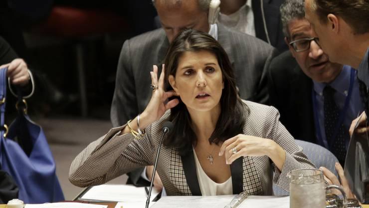 Niederlage für Nikki Haley: Eine Resolution, in der die Hamas wegen ihrer Raketenangriffe auf Israel verurteilt wird, fand in der Uno-Vollversammlung keine Mehrheit. (Archivbild)