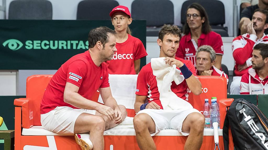 Schweiz im Davis Cup erstmals gegen Peru