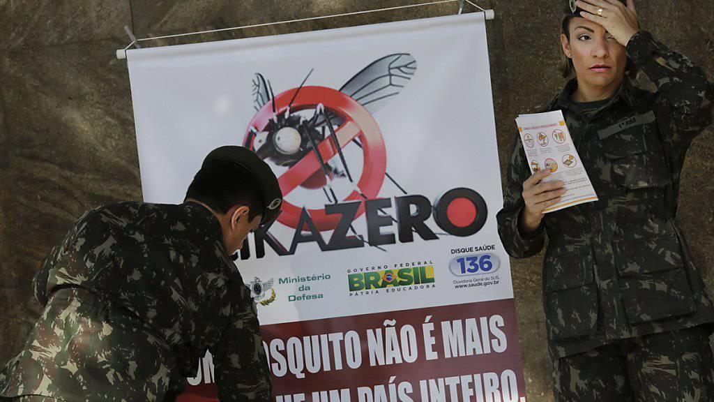 Mit Aufklärung der Bevölkerung und die Bekämpfung von Mücken will die WHO das rasante Ausbreiten des Zika-Virus stoppen (Symbolbild).
