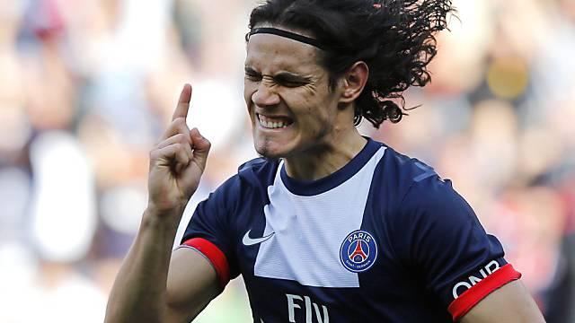 Edinson Cavani brachte Paris St-Germain in Führung