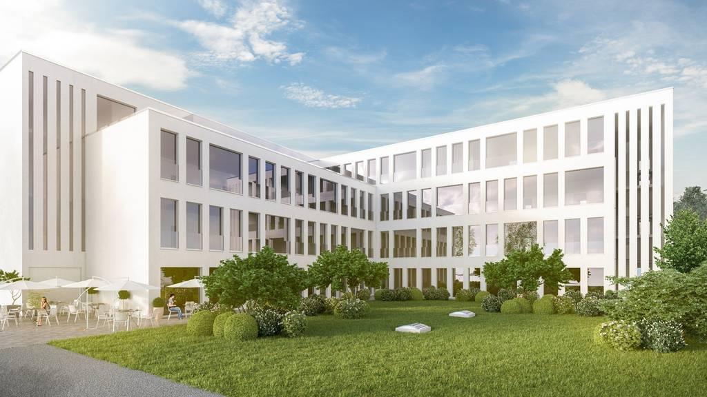 Das Ärztezentrum in St.Margrethen wird für 15 Arztpraxen Platz bieten.