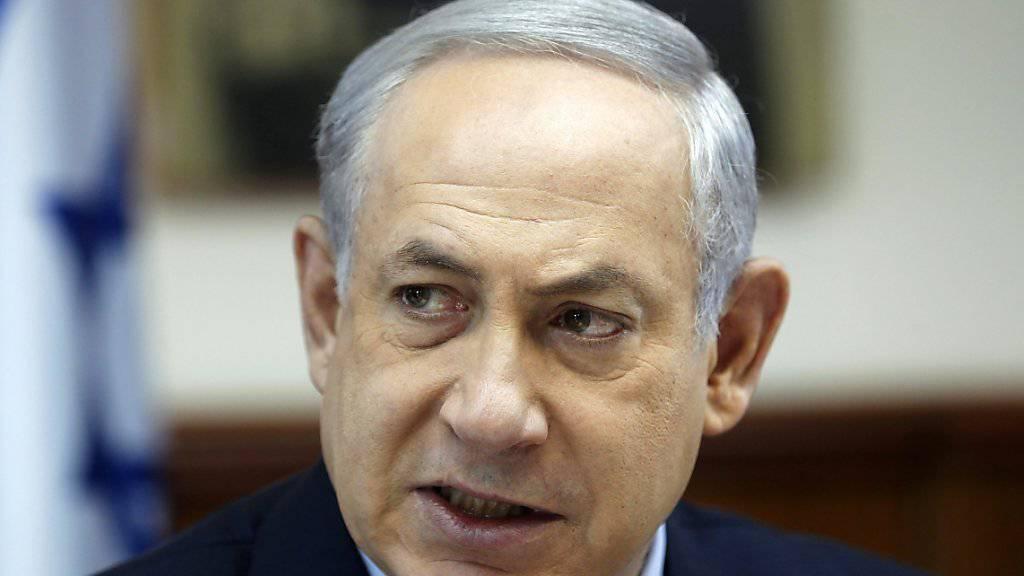 Israels Regierungschef Netanjahu soll den Verkauf der Wohnung schon am Montag genehmigt haben. (Archivbild)