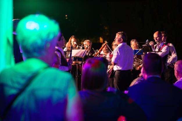 Die Stadtmusik Solothurn sorgte für musikalische Unterhaltung