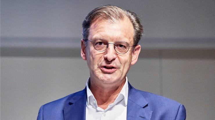 Matthias Leuenberger, Leiter Standort Schweiz, Novartis: «Ein grosser Teil aller Schweizer Exporte kommt aus dem Fricktal.»