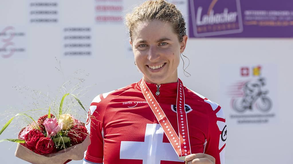 Marlen Reusser tritt im Zeitfahren als Titelverteidigerin an - 2019 wurde sie in Weinfelden Schweizer Meisterin