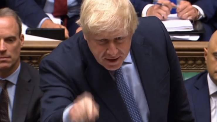 Angesichts von Boris Johnsons hartem Brexit-Kurs geht die britische Wirtschaft auf Rezessionskurs. (Archiv)
