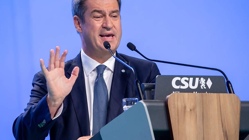 Söder warnt vor Linksrutsch in Deutschland