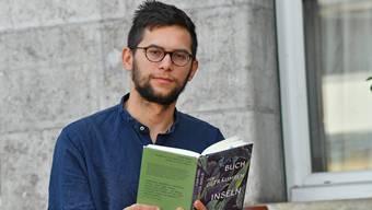 Lukas Maisel mit seinem Erstling «Buch der geträumten Inseln».