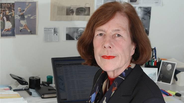 Marie-Louise Baumann, Lobbyistin, in einer Aufnahme von 2005.Toini Lindroos/RDB
