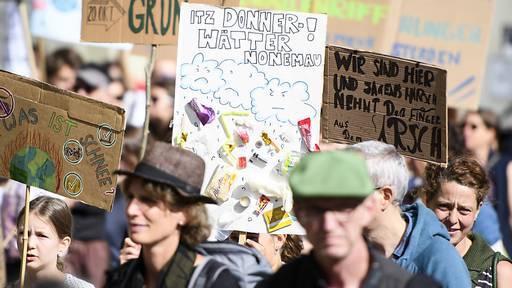 Klimabewegung plant schweizweiten Streik