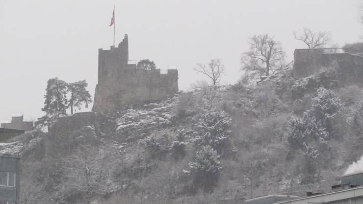 Bei Schneefall wäre die Fels-Untersuchung schwierig gewesen.