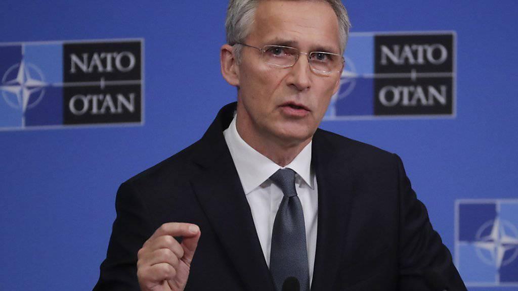 Die Nato muss sich nach Meinung ihres Generalsekretärs Jens Stoltenberg auf eine Welt ohne INF-Vertrag vorbereiten.