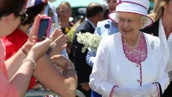 Elizabeth II. am Rande des Common Wealth-Gipfels in Perth (Archiv)