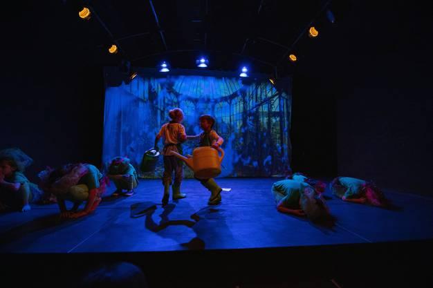 Impressionen des Kindertheaters Lampefieber