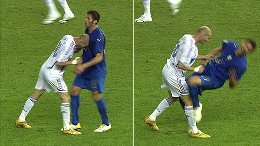Von Constantin bis Zidane – nicht nur Lehmann verlor die Nerven