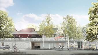 Das grosse Eröffnungsfest für den Sportpark Bünzmatt ist für das Wochenende vom 20./21. Oktober geplant.