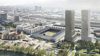 Die SP Stadt Zürich will ein von der Stadt gebautes Fussballstadion. (Archiv)