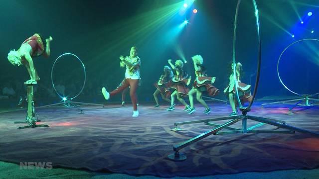 """Zirkus Knie feiert """"Formidable"""" Premiere"""