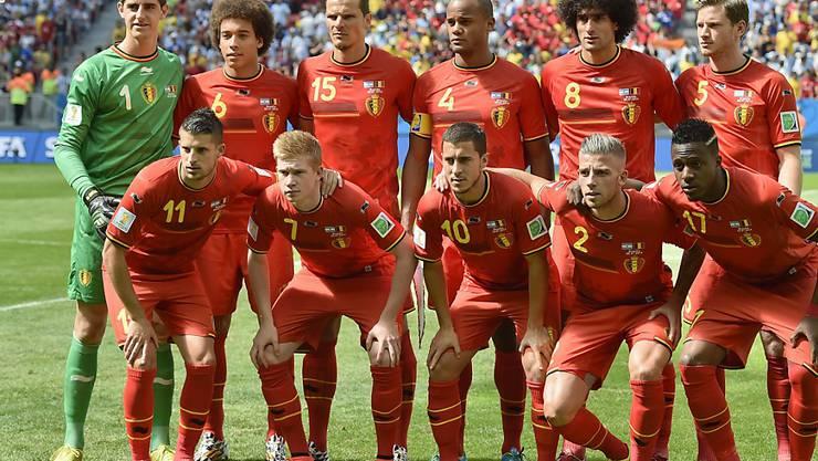 Belgien mit Superstar Kevin de Bruyne (Nr. 7) ist der zweitletzte Testspiel-Gegner der Schweiz vor der EM-Endrunde 2016 in Frankreich