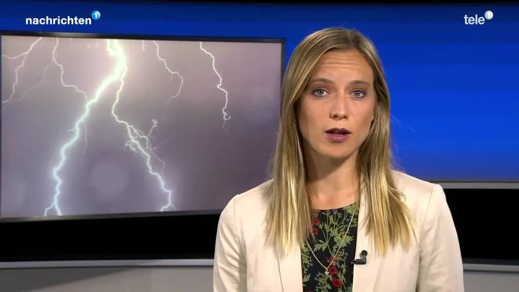 Ursache für die Blitzschläge