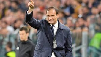 Trotz der grossen Enttäuschung will Trainer Allegri bei Juventus auch in Zukunft zeigen, wo es lang geht