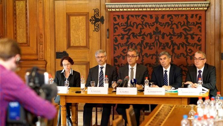 Die Basler Regierung hat mehr Frauen in der Verwaltungsspitze versprochen. Doch eine Frau sucht man weiter vergeblich.