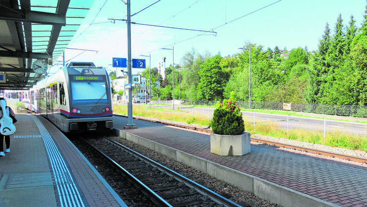 Der Bahnhof Rudolfstetten soll zwischen Frühling 2023 und Frühling 2024 umgebaut werden.