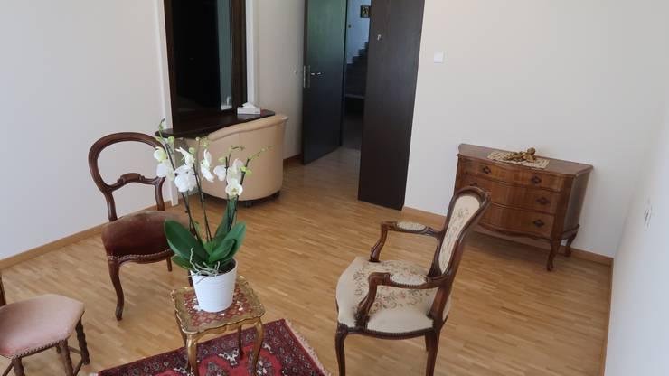 Ein Appartement im Seniorenzentrum Im Morgen in Weiningen wurde zu einer Besuchsstube mit zwei Zimmern hergerichtet.