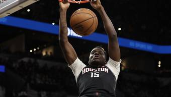 Clint Capela war in der Offensive fast makellos