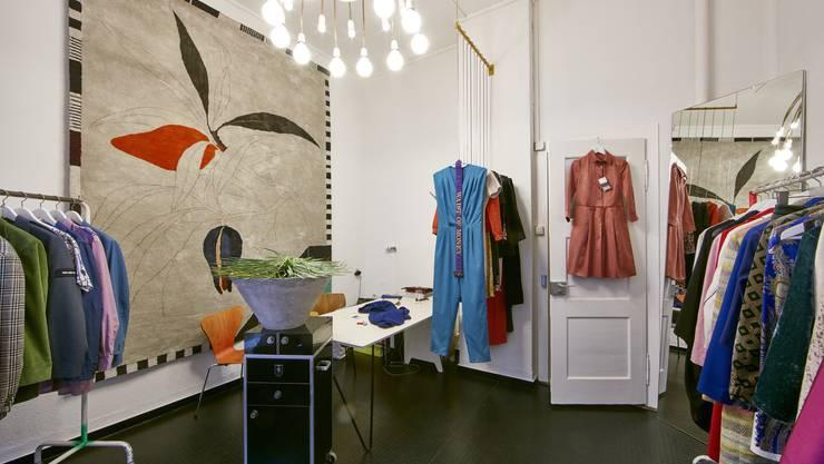 Die Kleihd-Boutique funktioniert als gemeinsamer Kleiderschrank.